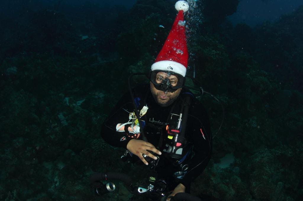 Scuba Hank NYC on Christmas