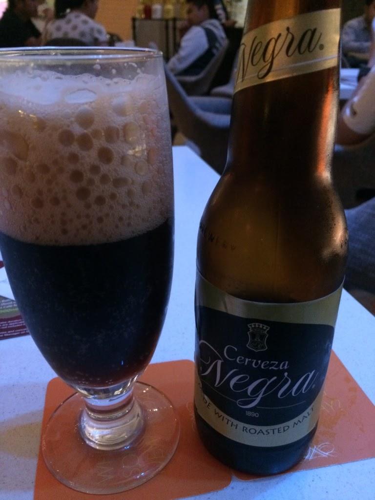 Cerveza Negra beer bottle