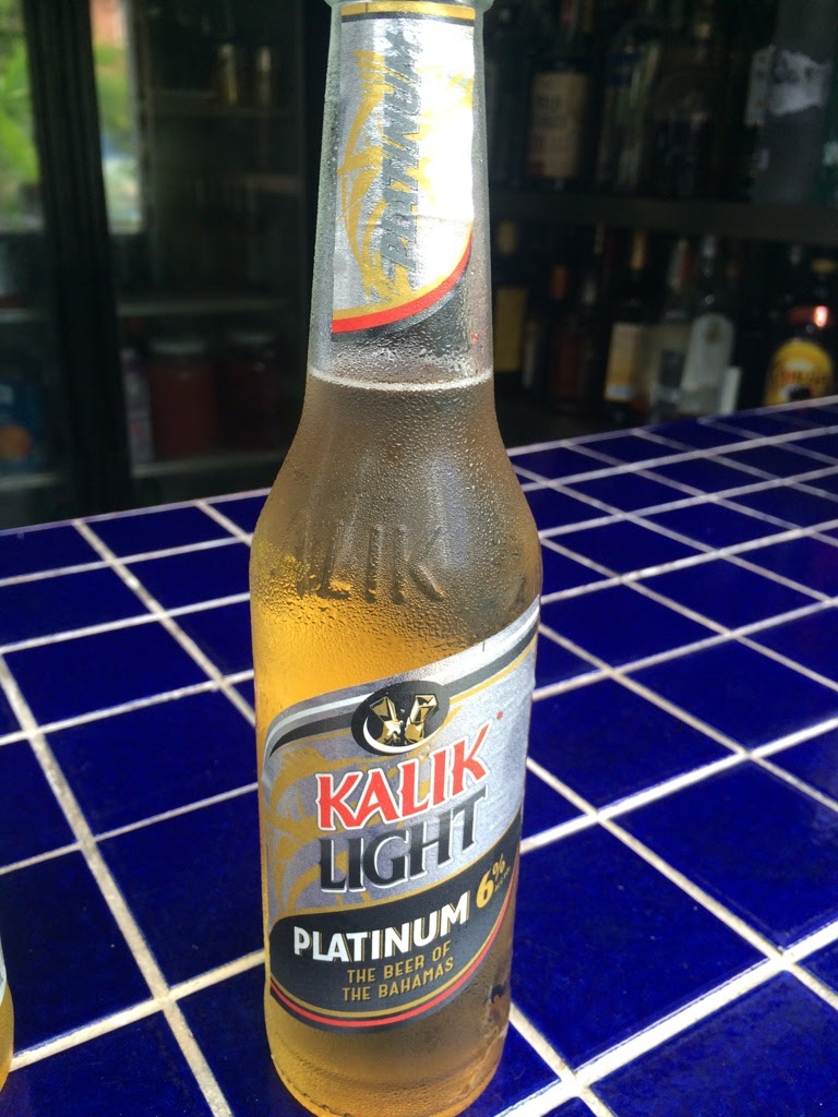kalik light platinum beer