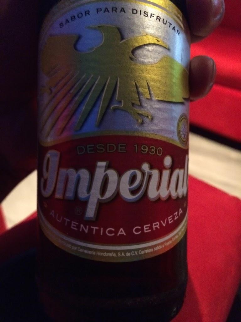 bottle of imperial beer