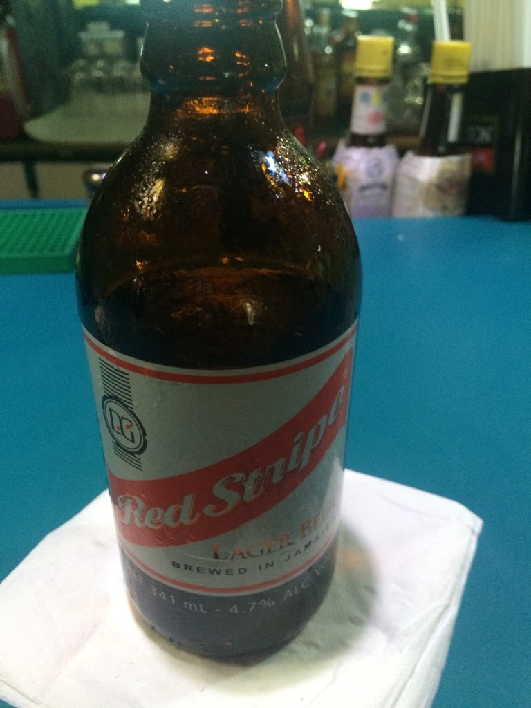 red stripe lager beer from jamaica