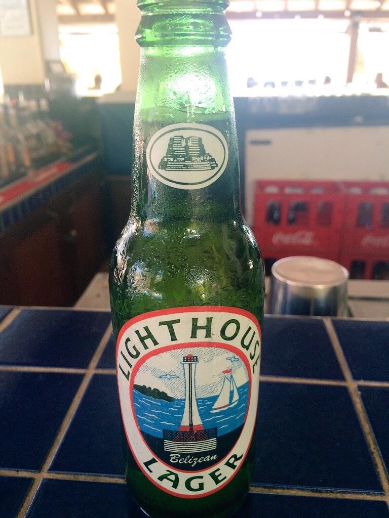 lighthouse lager beer belize
