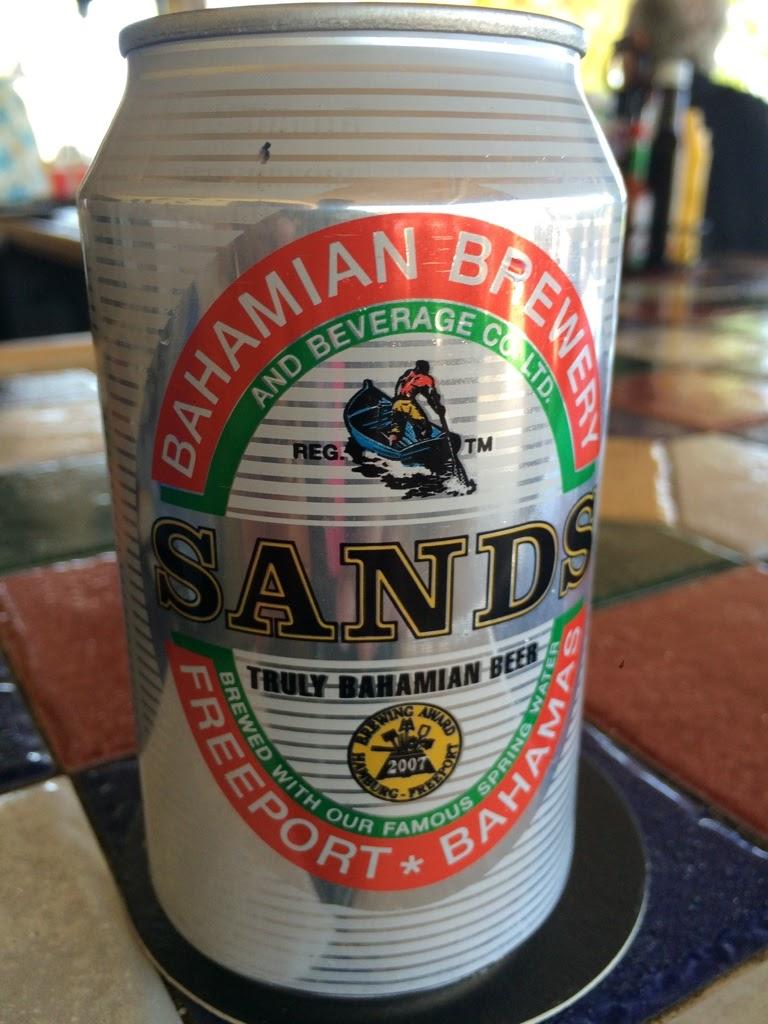 sands beer freeport bahamas