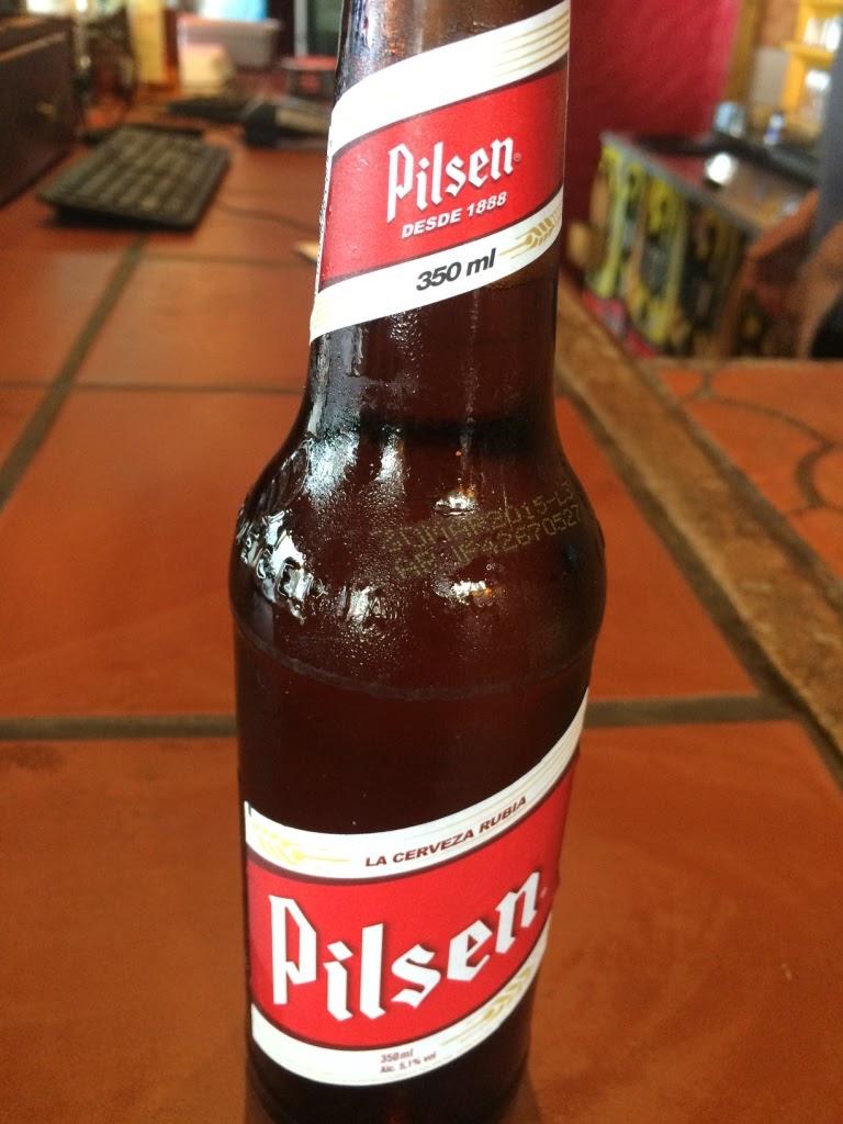 la cerveza rubia pilsen