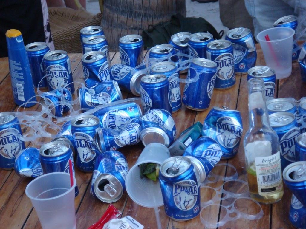 polar beer can